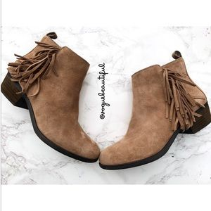Vince Camuto Brynn Suede Booties